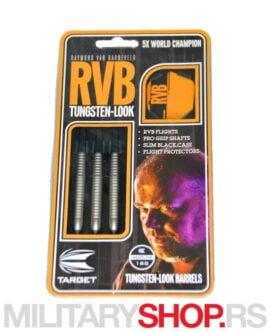 Pikado strelice plastični vrh RVB crne