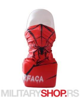 Spiderman bandana ski-skarf Superfaca
