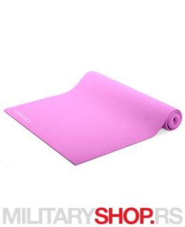 Strunjača za jogu roze boje Gymstick