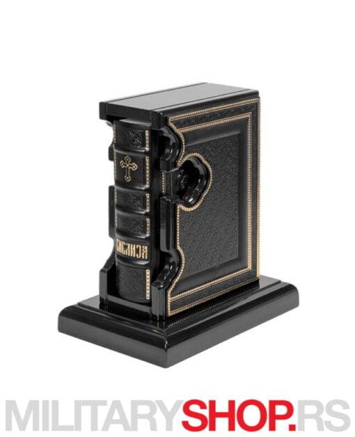 Sveto pismo -crna drvena poklon kutija