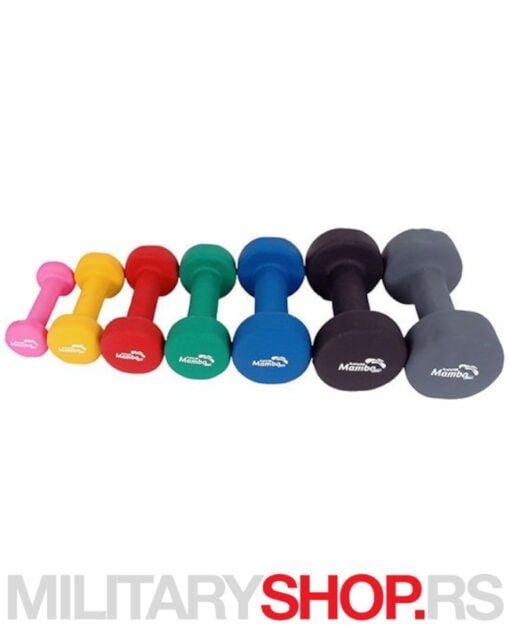Set bučica za aerobik 1kg MSD