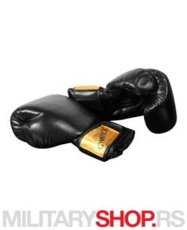 Rukavice za boks crne Gymstick