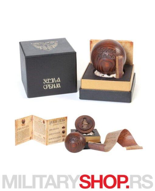 Sveta srpska zemlja kugla sa relikvijama