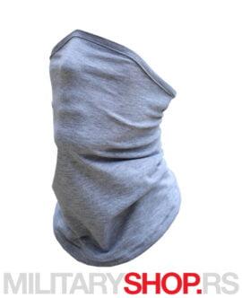 Moto bandana skarf sive boje