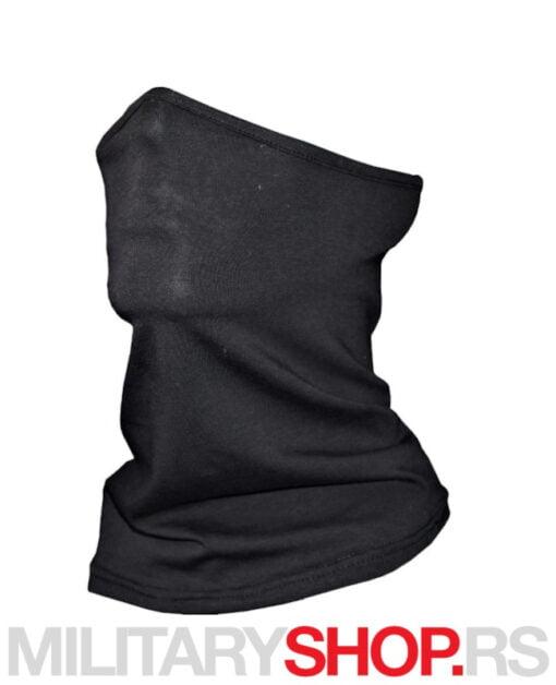Crna moto bandana za vrat i lice