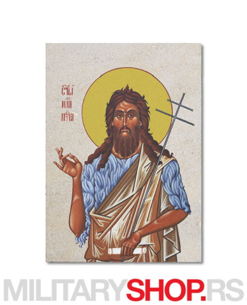 Sveti Jovan Krstitelj ikona na komena