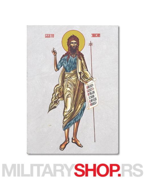 Ikona na kamenu Sv. Jovan