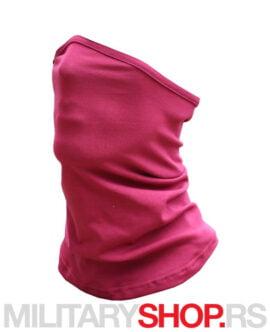 Bordo bandana za vrat i lice