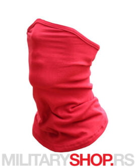 Crvena moto bandana za vrat i lice