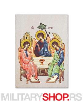 Sveta Trojica ikona na kamenu
