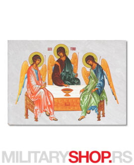Ikona na kamenu Sveto Trojstvo