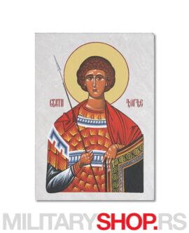 Đurđic ikona na kamenu Sveti Đorđe