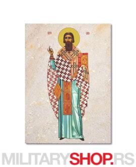 Sveti Sava ikona na kamenu