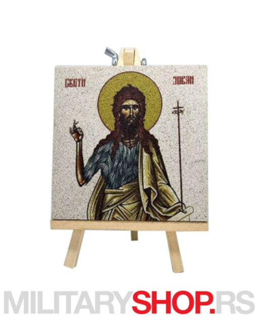 Ikona Svetog Jovana sa štafelajem
