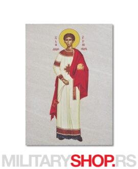 Sveti Stefan arhiđakon ikona na kamenu