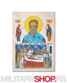 Prenos moštiju Svetog Nikole ikona