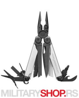 Multitool Leatherman WAVE Plus Silver-Black klešta