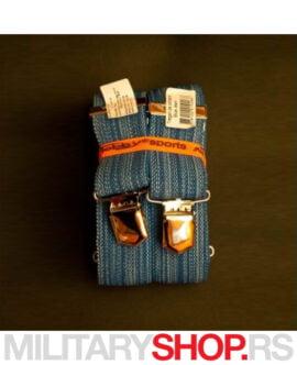 Tregeri plave boje Tobby Blue Jean