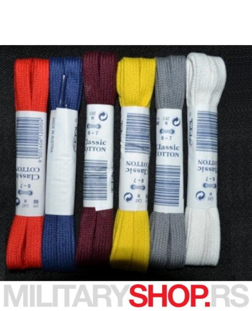 Pamučne pertle Tobby Classic Cotton 90cm