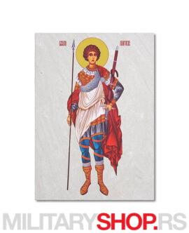 Đurđic ikona na kamenu Sveti Georgije