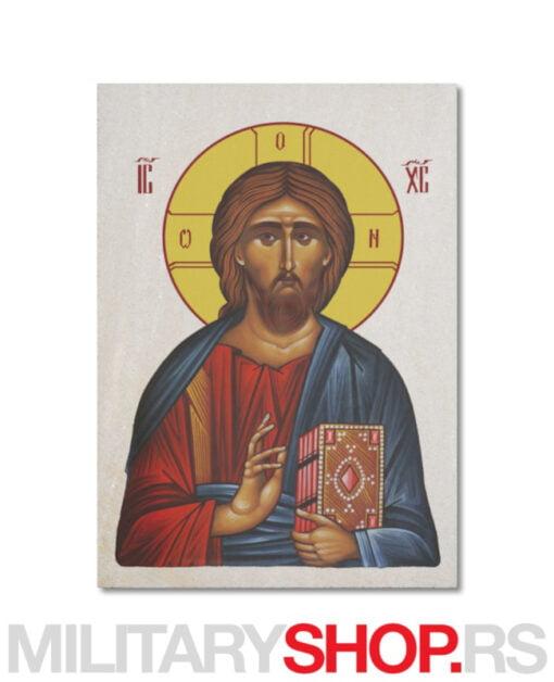 Ikona Gospoda Isusa Hrista na kamenu