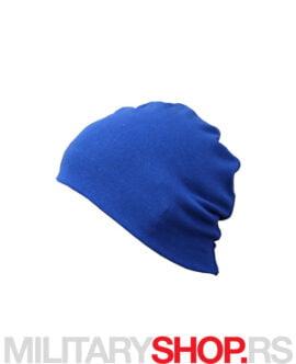 Kapa za zimu PLAVA boja od pamuka