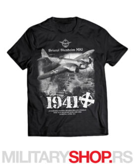 Jugoslovenska kraljevska avijacija 1941. crna majica