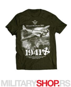 Bristol Blenheim Kraljevska avijacija zelena majica