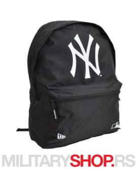 Ranac crne boje Yankees New Era Pink