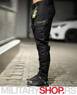 Predator taktičke pantalone crne boje
