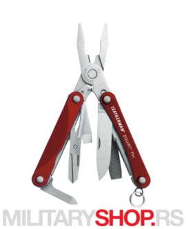 Multi tool klešta Leatherman SQUIRT PS4 Red