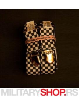 Tregeri za pantalone Black Chess Tobby