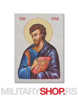 Ikona Svetog Luke na kamenu