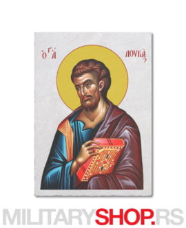Sveti Luka ikona na prirodnom kamenu