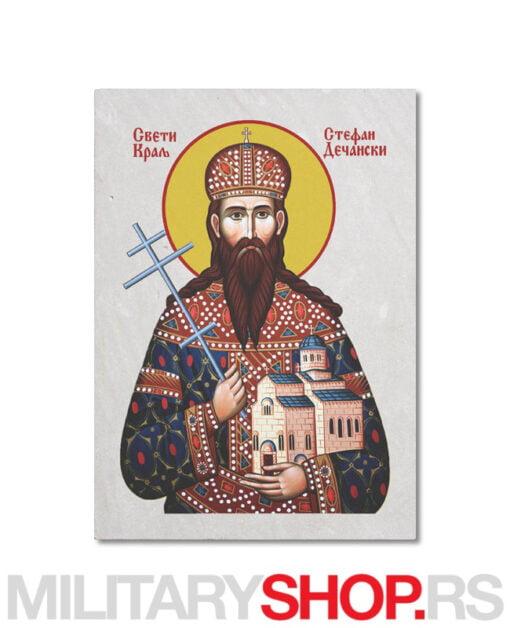 Stefan Dečanski - Sveti Mrata ikona
