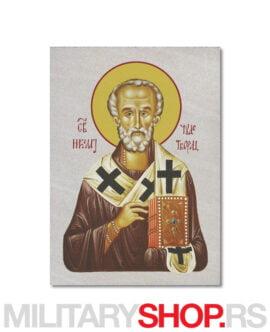 Ikona na kamenu Svetog Nikole