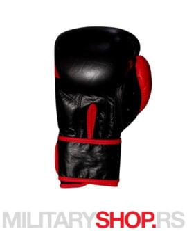 Rukavice za boks kožne 12oz Ring crvene