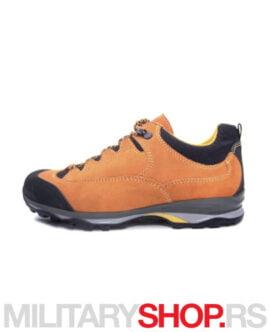 Hiking patike prevrnuta koža 210 Xtravel Orange