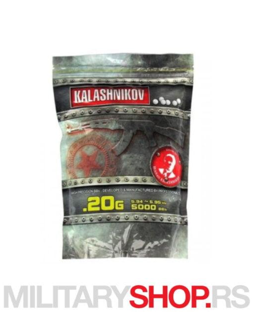 BB kuglice 0.20g 5000 Kalashnikov
