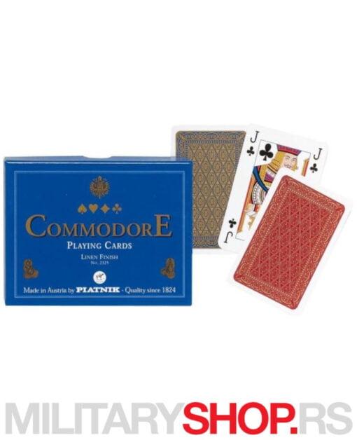 Set karata Piatnik Commodore Blue