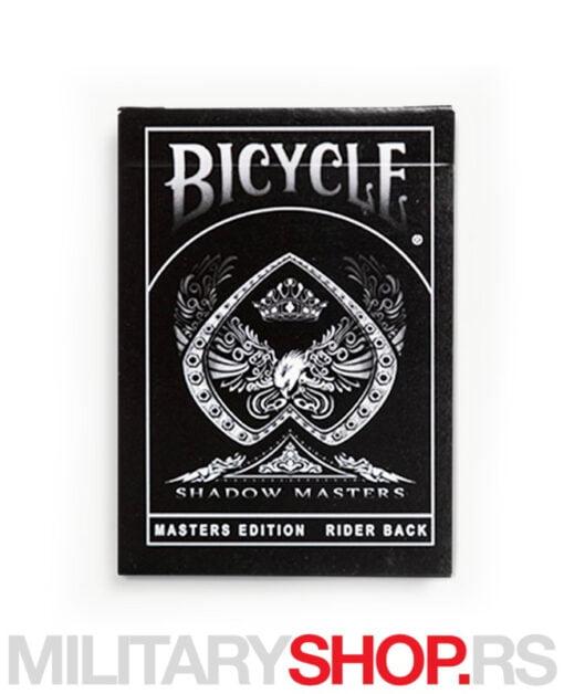 Karte crne boje Bicycle Legacy Masters