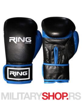 Bokserske rukavice kožne 10oz Ring Blue