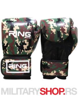 Maskirne boks rukavice 10oz Ring Army