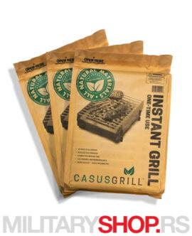 Eko roštilj CasusGrill set 3 komada