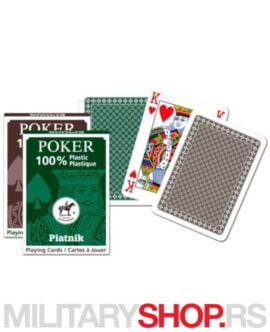 Plastične karte Piatnik 100% Plastic Economy