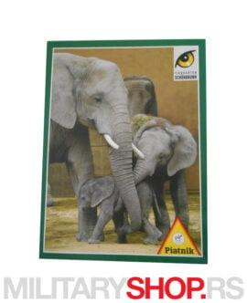 Igra za decu puzle Piatnik Elefanten