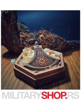 Srpske Rune - Perunova Sekira Sa Kutijom