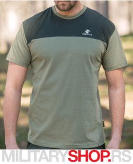 Pamučna zelena majica Caprella