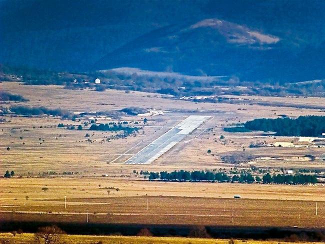 Aerodrom Udbina i NATO Bombardovanje