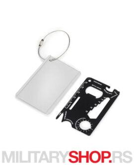 Alat u obliku kartice Toolcard Silver